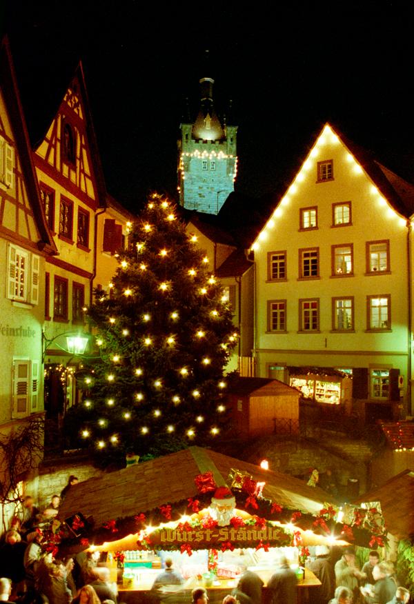 Altdeutscher Weihnachtsmarkt.
